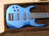 HARD to FIND professional left-handed Carvin Bass- with