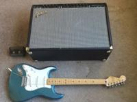 Left handed FENDER Standard Strat with Fender Champion