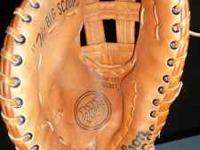 I bought this left handed glove 25years ago to play
