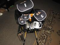 This is i left handed set of walter hagens golf clubs