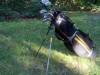 These left-handed clubs include: -Woods: #1 Driver,