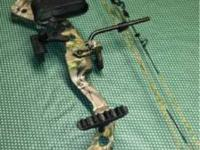 Left handed youth bow. Fuse by Hoyt whisker biscuit not