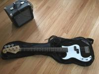 I have a lightly used, SX 4 String Bass for lefties.