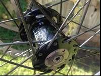 Take-off wheels from Cannondale bike. Perfect for