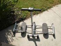 Leg workout machine! its still new and ready to use. It