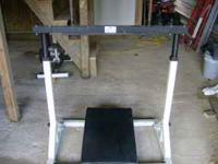 Leg Press and Seated Calf Machine from Yukon Weight