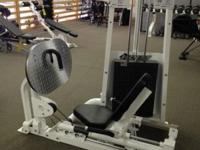 This leg press was formerly a showroom just system.