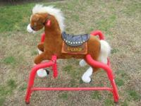 I HAVE A ANIMATED SINGING PLUSH ROCKING HORSE SI VERY