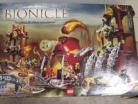 Offering the Bionicle Lego set 8759. Only one or 2 bags