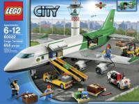 New in box Lego partner a payload plane 60022, and
