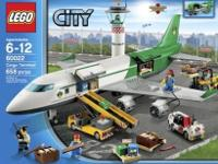 New in box Lego combine a payload plane 60022, and