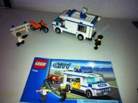 Hi I'm selling a brand new Lego city police truck. its