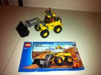 Hi I'm selling a brand new Lego tractor, its as good as