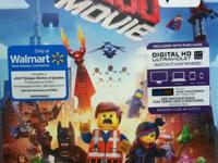 New, not opened The Lego Movie  Plays regular DVD and
