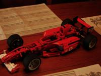 Lego Racers #8386 Ferrari Formula One Race Car.