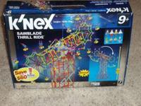Lego K'Nexs sets, Sawblade thrill ride, 2 speed