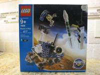 A retired set. Brand new, factory sealed box. Box has