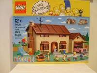 For sale I have a Lego set #71006, The Simpsons House.
