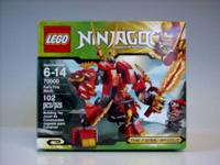 Lego Ninjago Set # 70500, Kai's Fire Mech. Direction