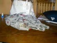 For sale is a new Lego millennium falcon over 1200