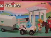 I am selling the lego system sunset stable 6405 set
