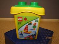 I have 2 sets of Lego blocks in a box. 1. Duplo - Ages