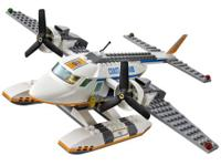 LEGO COAST GUARD PLANE AND FISHING BOAT 60015 SET WITH
