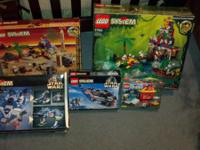 I have 5 lego sets valued around $1000.00 new. I have