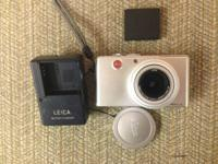 This is a Leica D-Lux 3 digital camera. It shows some