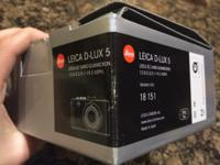 Leica d lux 5 for sale. Excellent condition. Has only