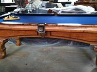 The listing is for a Leisure Bay Billiards Table for