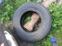 I have a nice spare tire for sale. I bought a new set