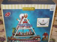 "This Lemax Carnival Village ""Viking Ship"" is brand new"