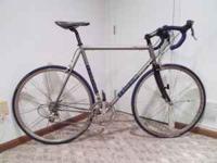 For sale, an amazing 2002 titanium Lemond Victoire with
