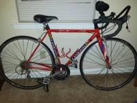 I have a 2003 red lemond road bike. Very well taken