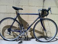 Lemond Road bike from the early 90s fully equipped with