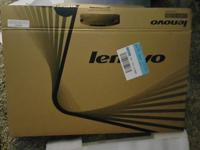 Brand new Lenovo laptop. Core i3 with 4gb Ram and a 1tb