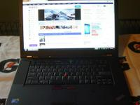 For sale is a barely used -MINT- Lenovo ThinkPad T510
