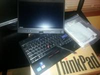 Up for sale is a very nice Lenovo X220t Tablet