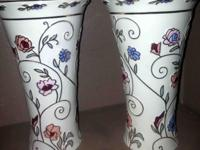 Lenox Gilded Garden 24K Gold Vases pair Purchased for