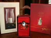Lenox products, new in boxes:. - Seasonal Light