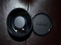 This is a 500 MM Mirror Lens by Kalimar (Catidioptric).