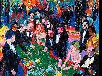LeRoy Neiman (1921-2012) Royal Family Serigraph 1996