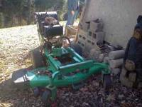 Lesco 54 inch cut Commercial walk behind mower. Motor