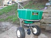 I have a Lesco commercial plus 80-lb spreader in great