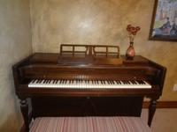 Good condition.  +piano mover's cost