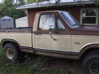 I HAVE AN 1983 FORD STREET LEGAL MUD 4X4 TRUCK IT HAS