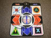Lets Dance Dance pad for Game Cube, like new condition.