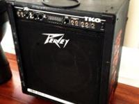 Peavey TKO 115S Bass Guitar Amplifier Combo for Sale