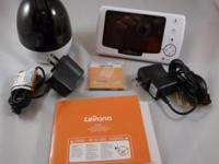 "This is a new Levana 4.3"" Pan/Tilt/Zoom Digital Baby"